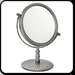【美妝必備單品】雙面彩妝鏡(1X/2X)-桌鏡