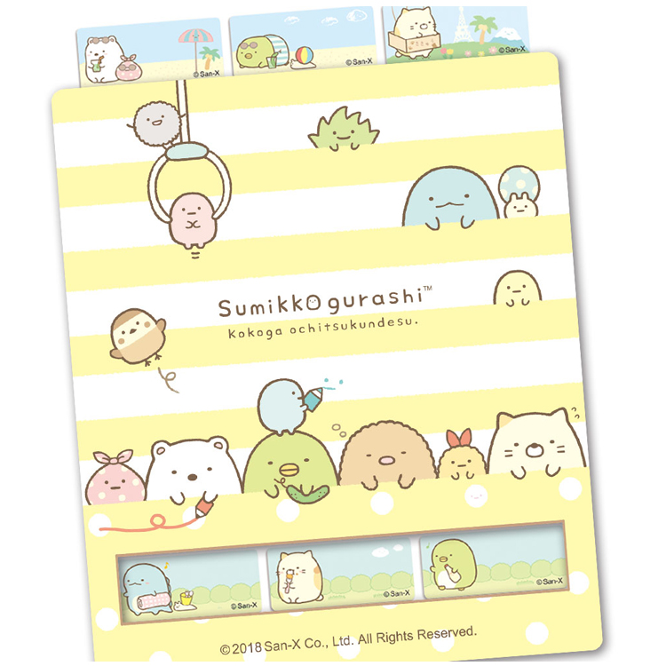 貼貼人姓名貼專賣店-角落生物 Sumikko Gurashi 熱熔熨燙布貼