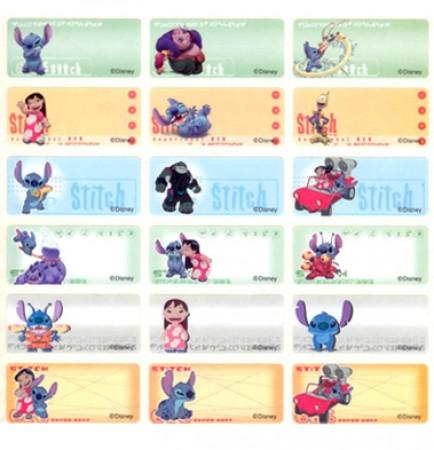 貼貼人_Disney迪士尼-星際寶貝(中)授權姓名貼