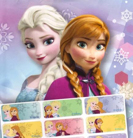 貼貼人_Frozen冰雪奇緣(BM款)授權姓名貼