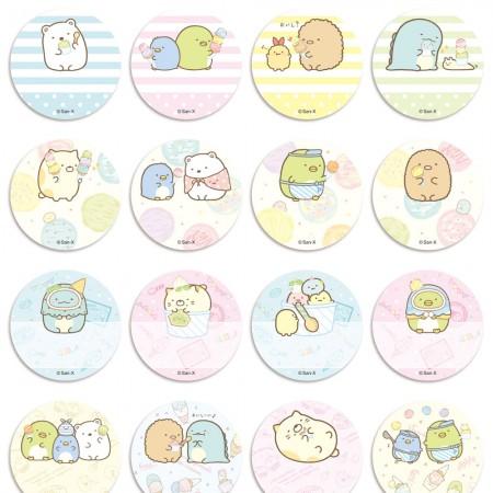 貼貼人_角落生物 Sumikko Gurashi (圓形2.2cm) 授權姓名貼