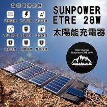 JC-Sunpower ETFE 28W太陽能充電器