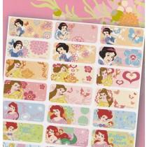 貼貼人_Disney迪士尼公主(新R款))授權姓名貼