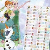 貼貼人_Disney 迪士尼 Frozen冰雪奇緣 (小) 姓名貼紙授權姓名貼