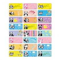 貼貼人_鑽石版Panda 熊貓(中)授權姓名貼